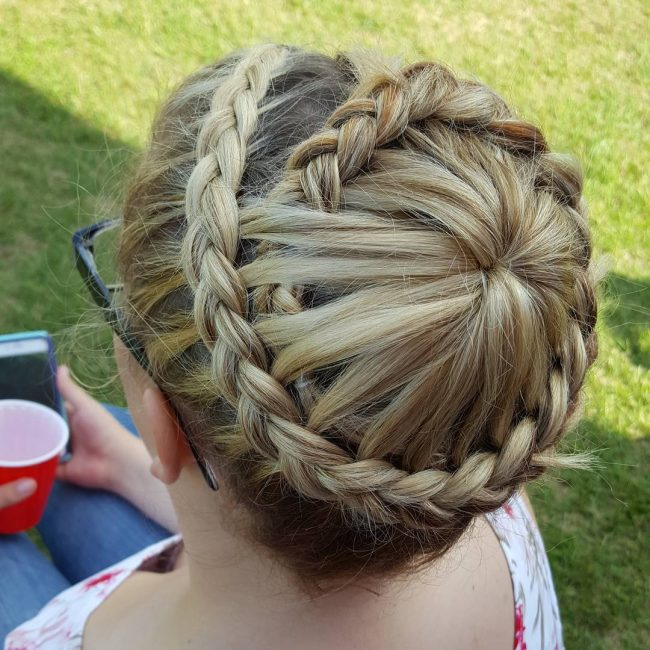 Circle Starburst Braid