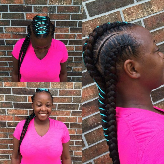 Cornrow Lace Braids