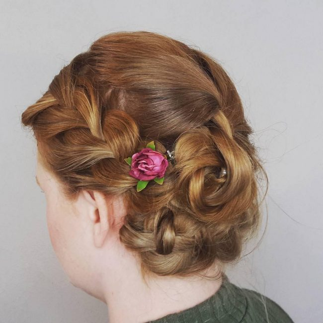 Creative and Fun Updo