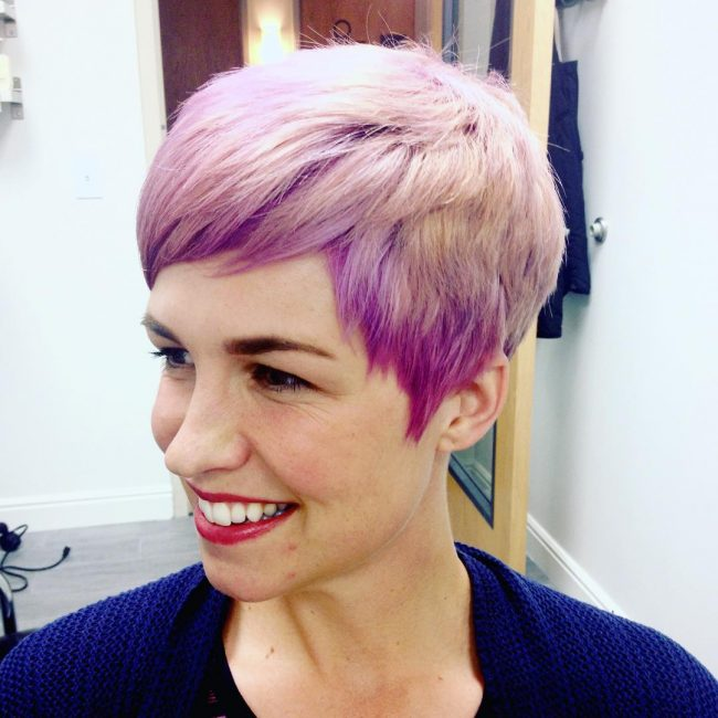 Cropped Lilac Pixie