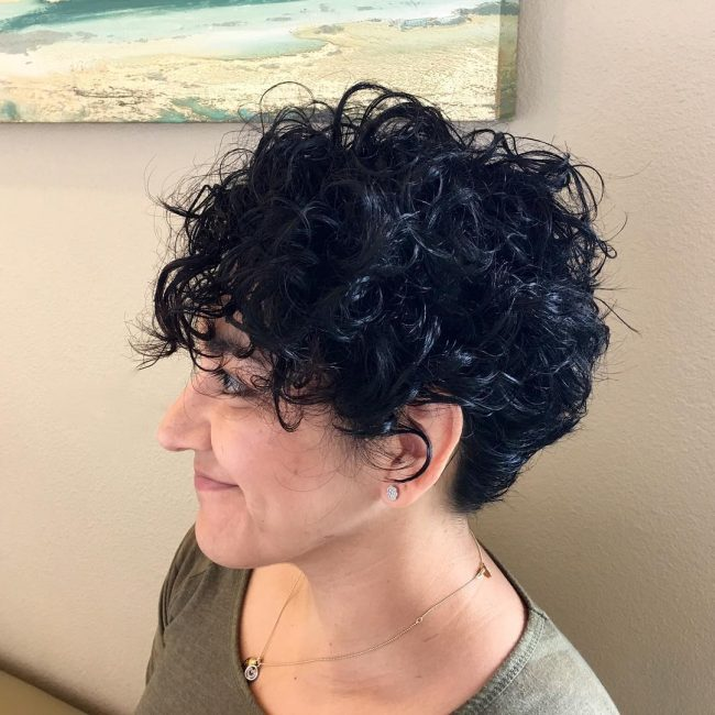 Curly and Shaggy Pixie