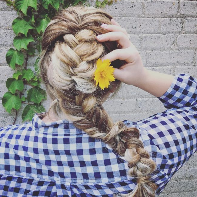 Cute Mermaid Braid