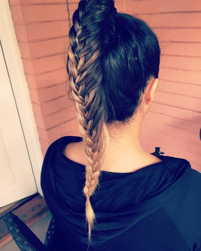 Cute and Neat Waterfall Plait