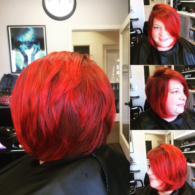 Deep Carrot Layered Bob