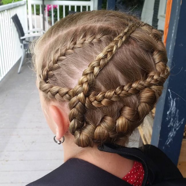 Double Wrap French Braid