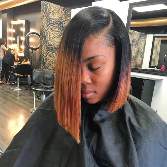 Edgy Ombre Cut