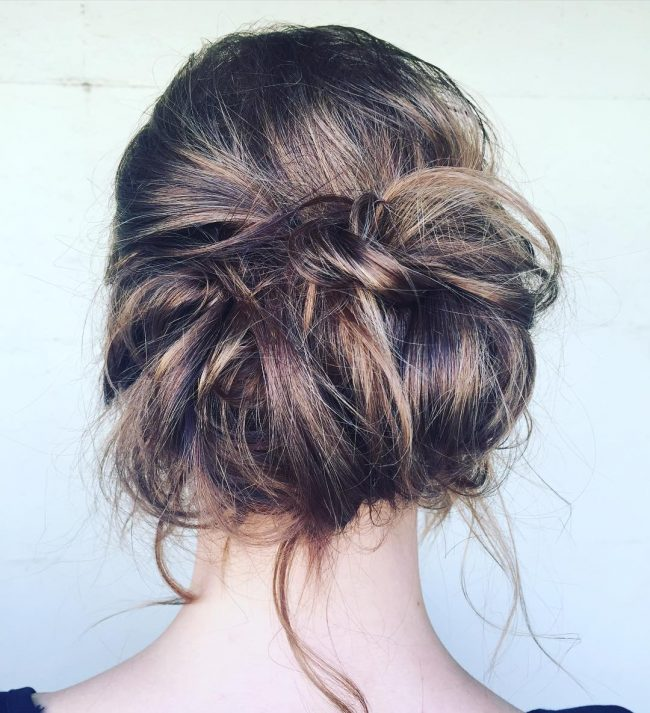 Effortless Loose Chignon