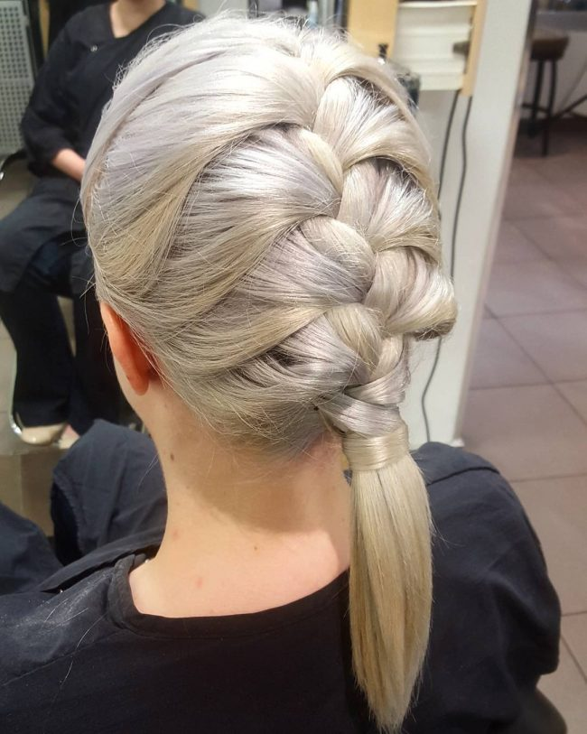Exquisite French Braid Pony