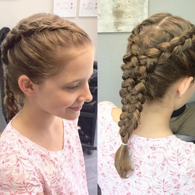 Fine 50 Cute Little Girl Hairstyles Easy Hairdos For A Princess Hairstyles For Women Draintrainus