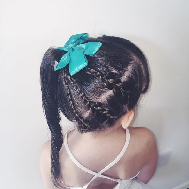Fancy Fringe, Pull-Through Braid, and a Pony
