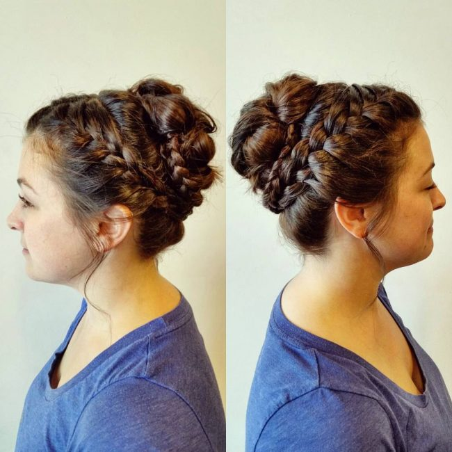 Fancy Lace Updo