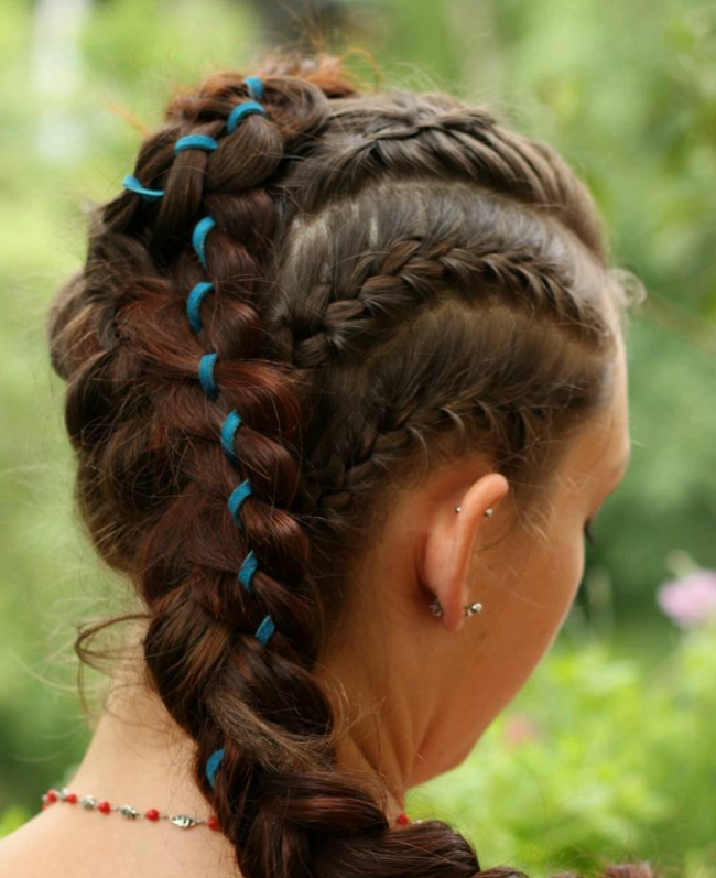 Fashionable Combination Braid