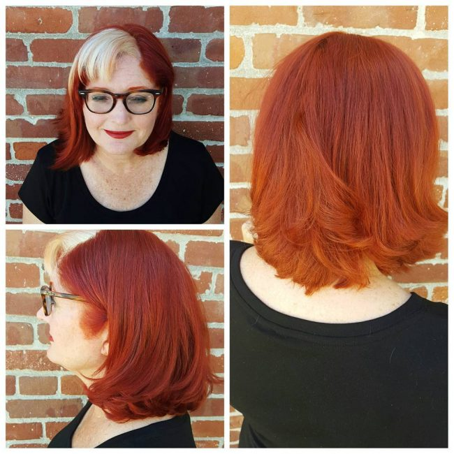 Fashionable Red and Copper Blend