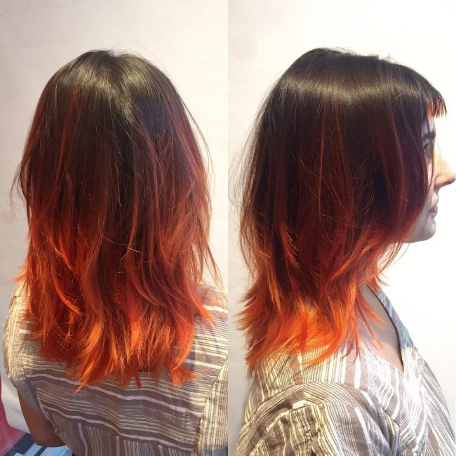 Flaming Hot Ombre