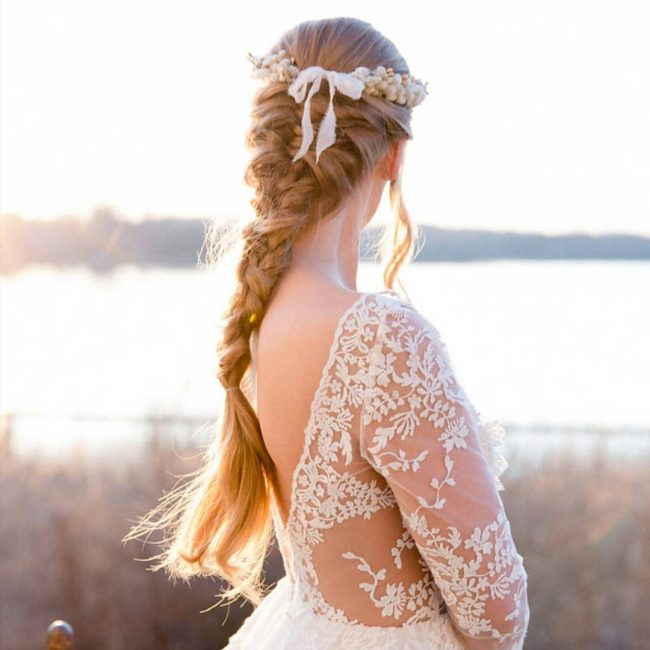 Flower Crown and Mermaid Braid