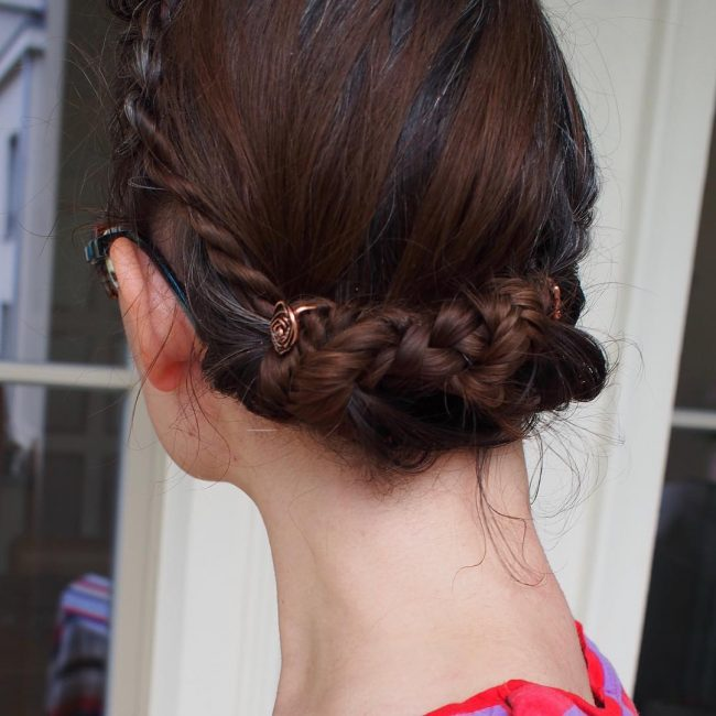 French-Braided Fishtail Braid