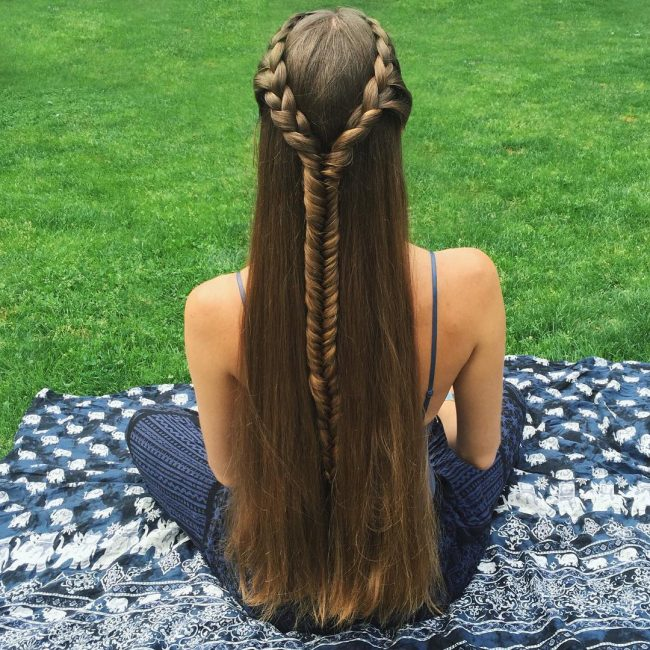 French Side Twists into a Fishtail