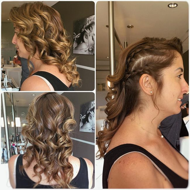 Fun Partial Braided Style