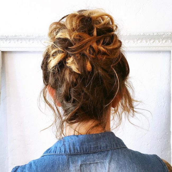 Fun and Sexy Top Bun