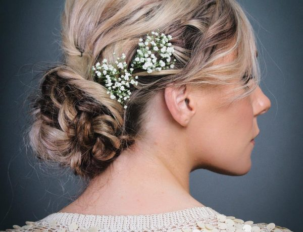 Funky Twisted Boho Updo