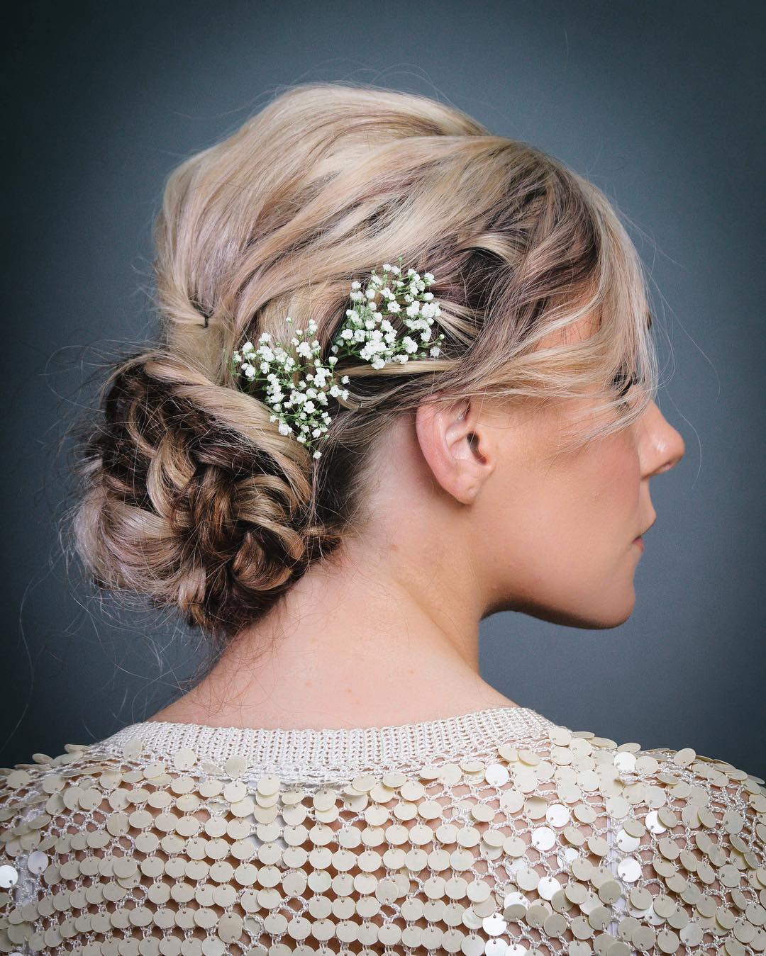 40 Stylish Messy Updo Hairstyles Effortlessly Looking Glamor