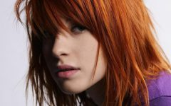 Hayley Williams' Spiky Copper Orange Locks