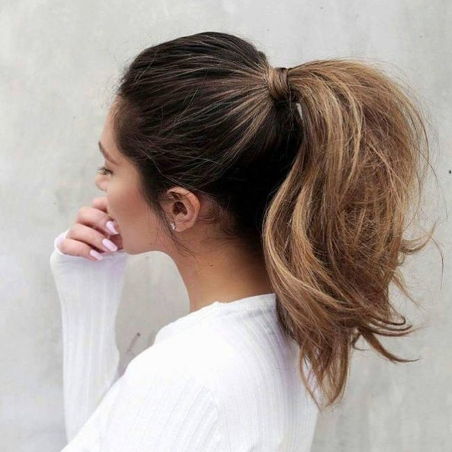 50 Cute Ponytail Hairstyles — Simplicity and Elegance