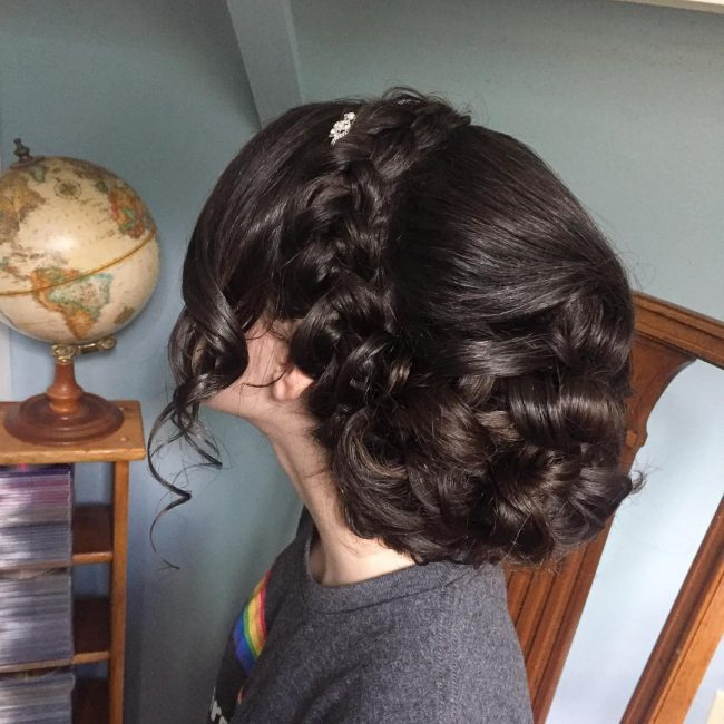 Inventive Crown For a Thick Hair