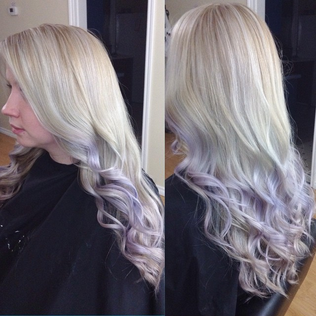 Lovely Lavender Ombre