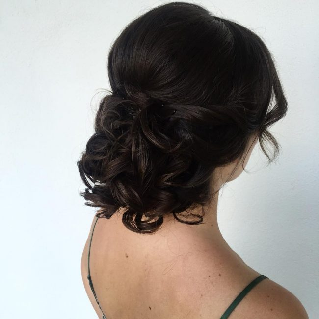 Low Bun for High Updo