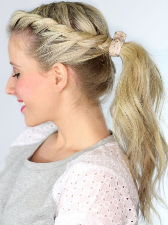 50 Great Braided Ponytail Hairstyles From French To Fishtails