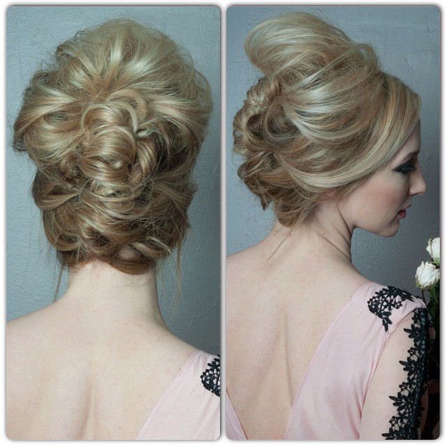 Messy Modern French Twist