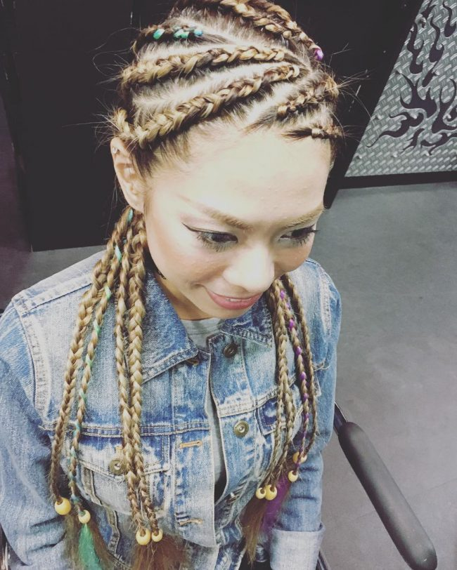 Multidirectional Cornrows