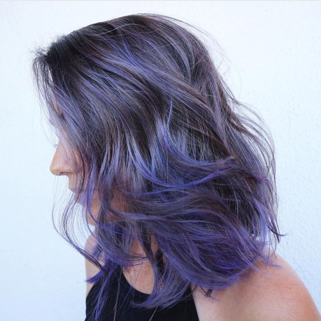 35 Alluring Short Purple Hair Ideas Too Stunning To Ignore