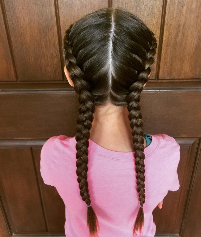 Neat Dutch Braids