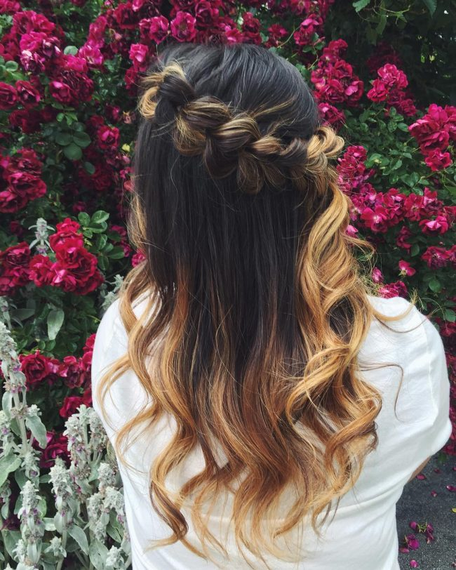 Ombre Crown