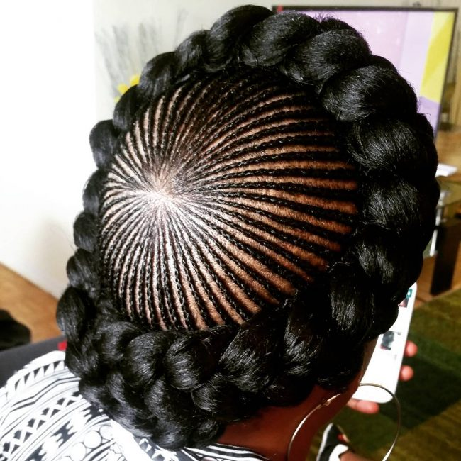 Original Crown with Micro Braids