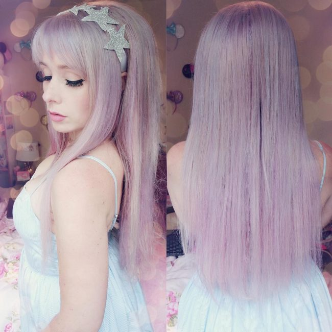 Pastel Purple Extensions
