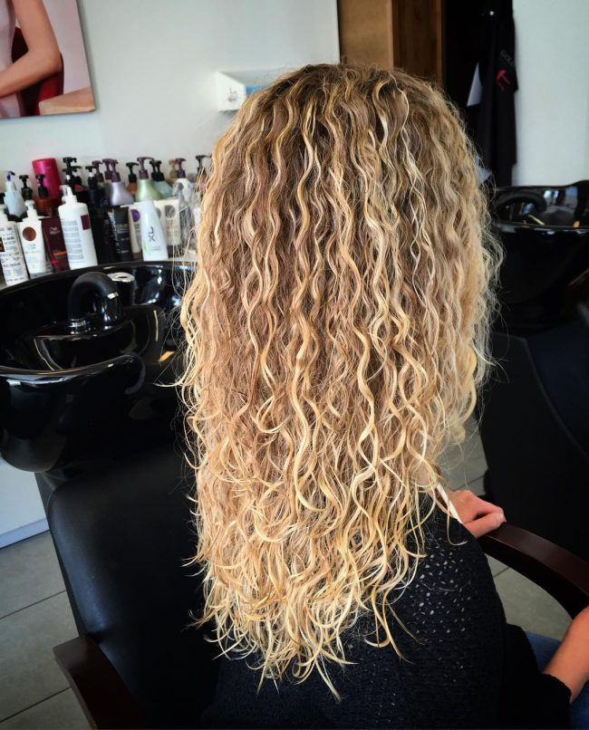 50 Modern Perm Styles Spiral Curly Wave Even Straight