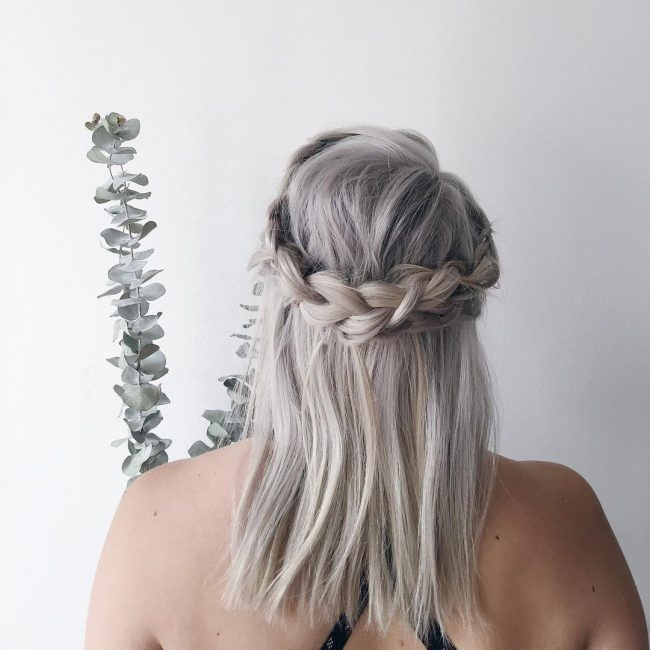 Platinum Gray Crowned Lob