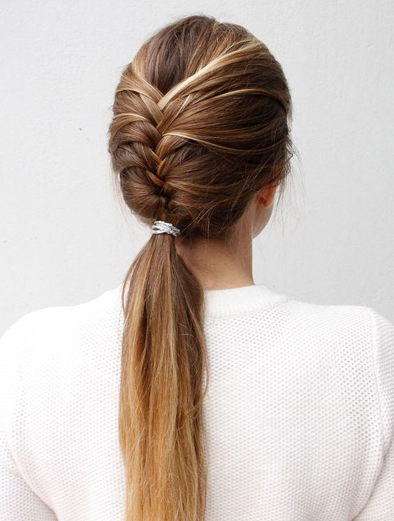 Pretty and Sophisticated French Fishtail