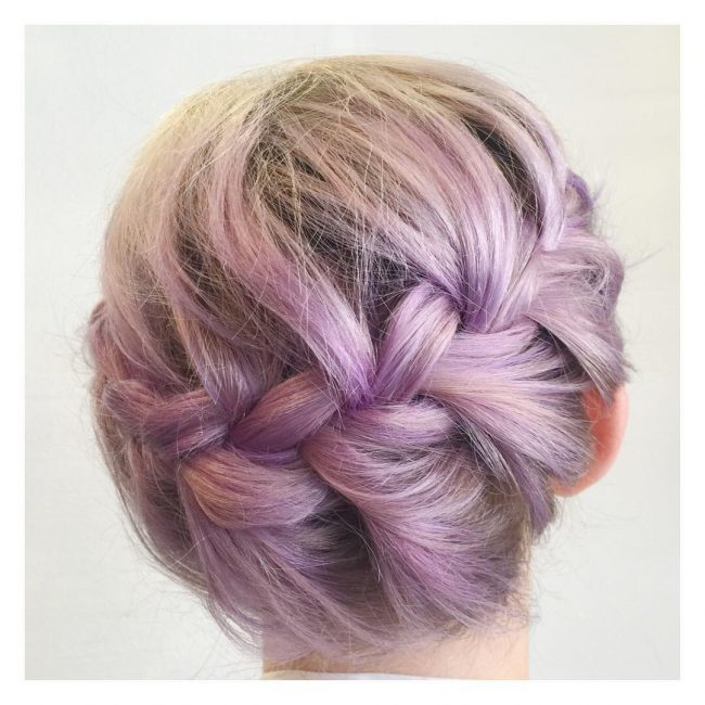 Purple Pastel Braid