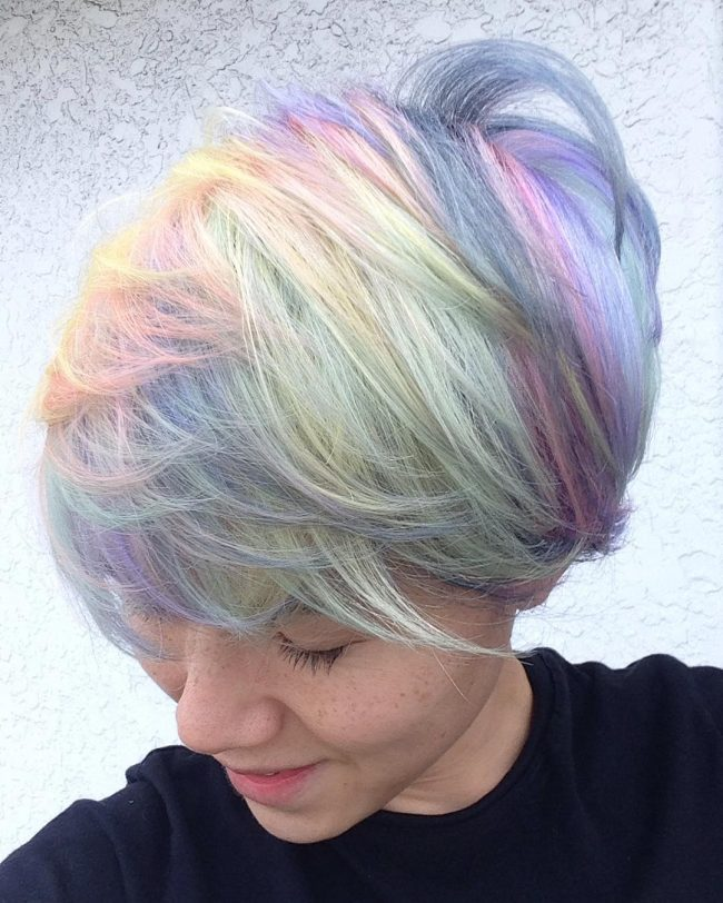 Rainbow Pastel Stacks