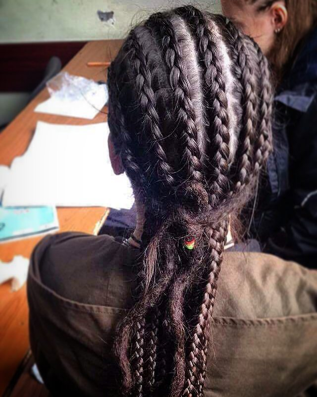 Romantic Cornrow Dreads