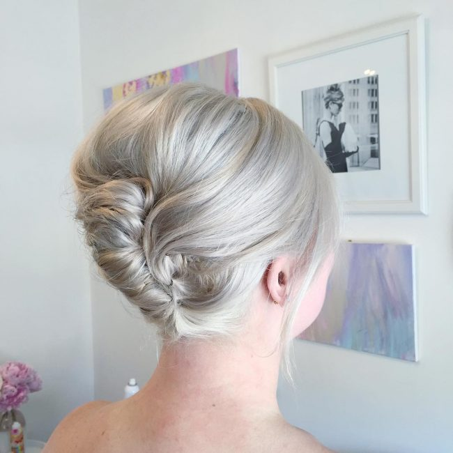 Sassy French Twist Updo