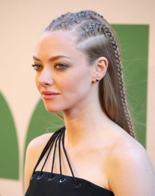 Seyfried's Stylish Cornrows