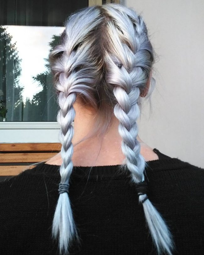 Silver Gray Twists