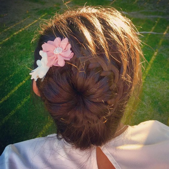 Simple Braided Bun