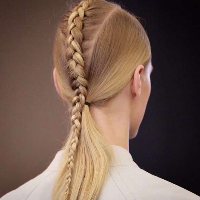 Small Floating Plait