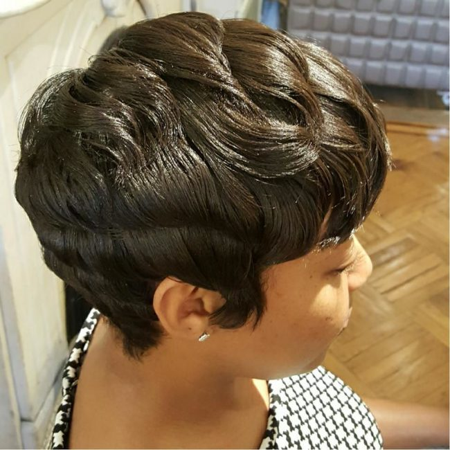 Soft and Layered Shiny Hair